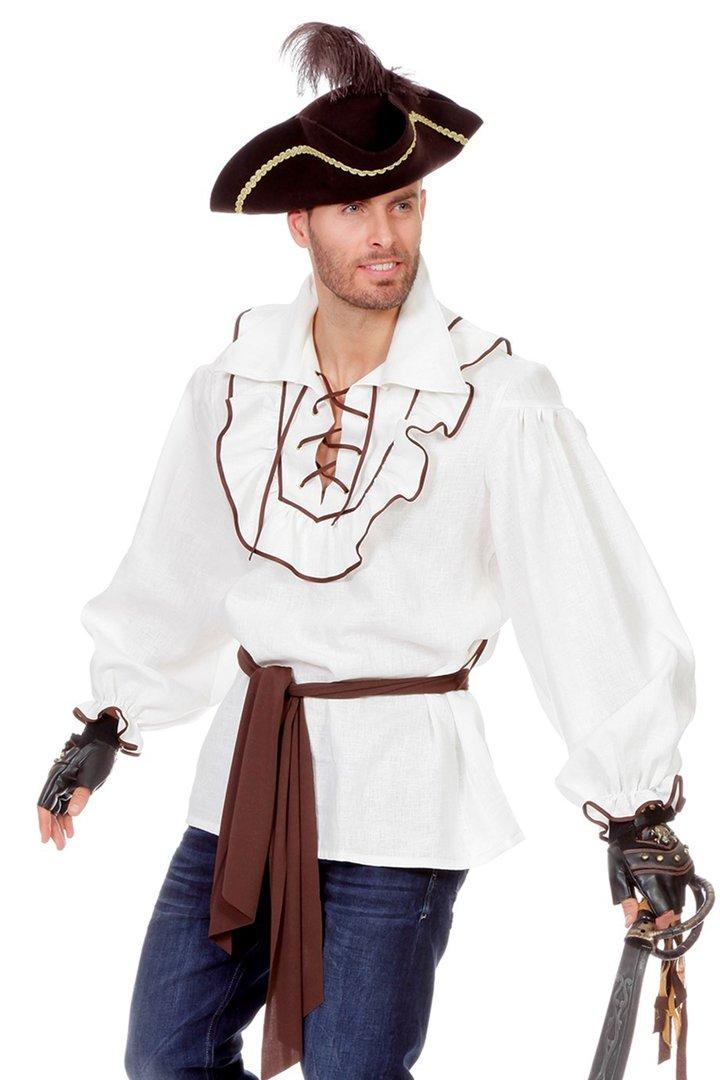 Neu Rot Piraten BLUSE