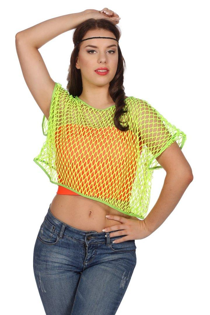 best website b6bb2 98f95 Netzshirt in neon-grün - NEU!!! -